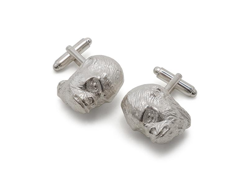 Gorilla Head Cufflinks
